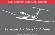 TAG Aviation Signage
