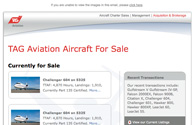 TAG Aviation USA Email Suite